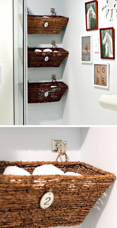 Window Box Bathroom Storage.