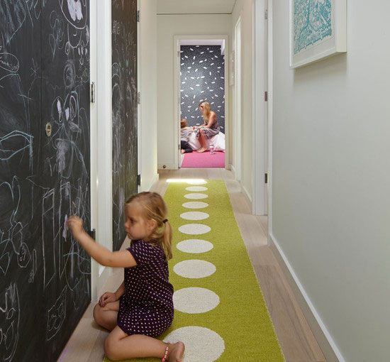 Make a Kid Friendly Hallway.
