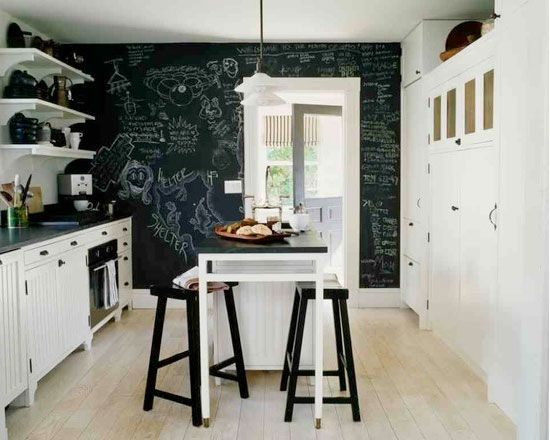 Create Accent Wall in Kitchen.