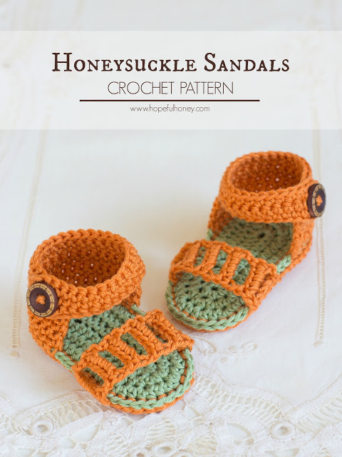 Honeysuckle Baby Sandals.