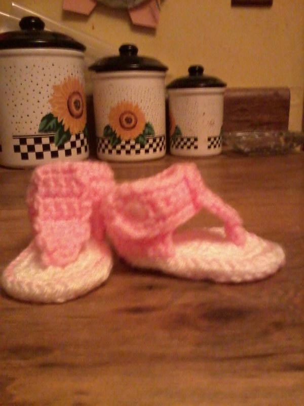 Baby Gladiator Sandals.