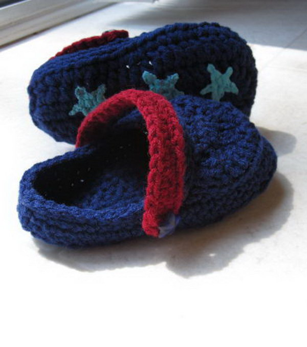 Crochet Toddler Crocs.
