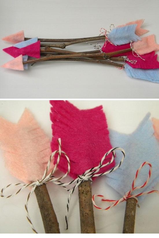Valentine Twig Arrows.