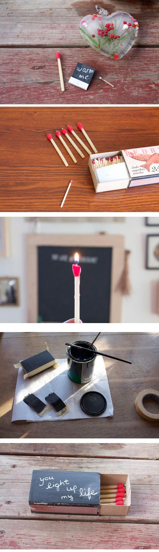 Matchstick Beeswax Candles.