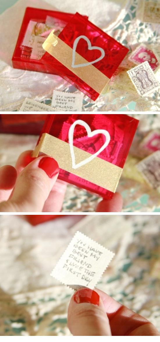 Easy Valentine Letter Box.