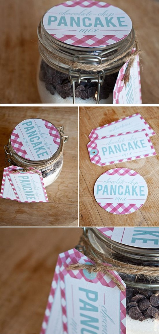 Pancake Mix in a Jar.