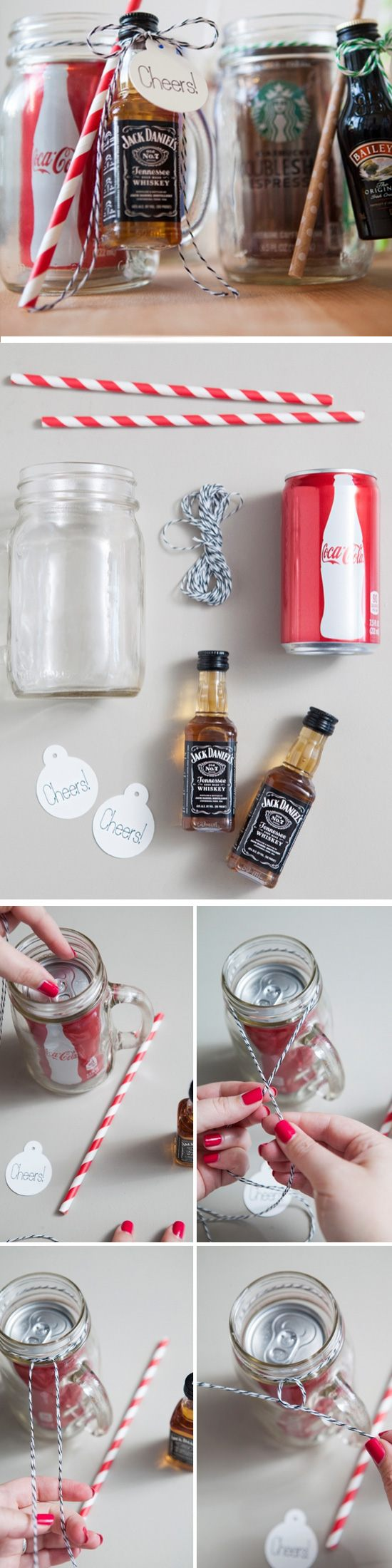 Mason Jar Cocktail Gifts.