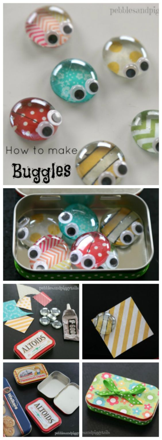 Altoid Tin Reuse Bug Craft Toy.