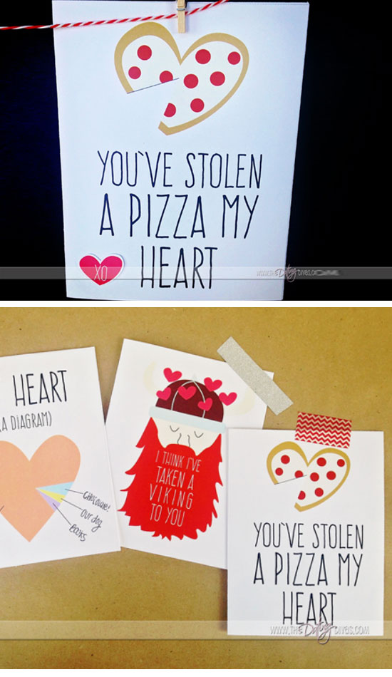 You've Stolen a Pizza My Heart.