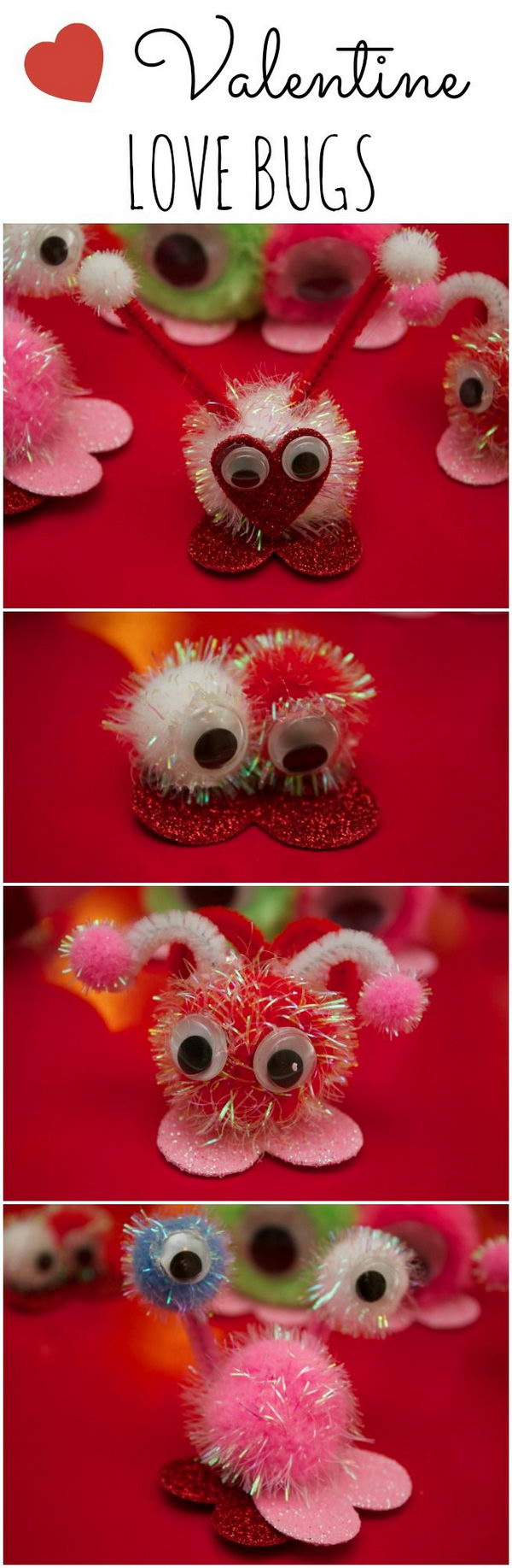 Valentine's Day Love Bugs.