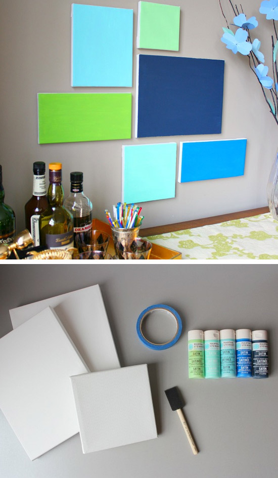 40 Awesome Wall Art Diy Ideas Tutorials For Your Home Decoration 2018