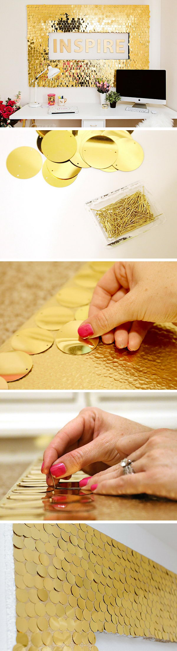 40 Awesome Wall Art DIY Ideas & Tutorials for Your Home Decoration 2017