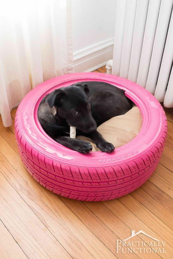 your ideas large barrel and wine bed diy make you pup can for projects beds creative dog