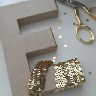 25 Creative DIY Ideas and Tutorials to Make Decorative Letters