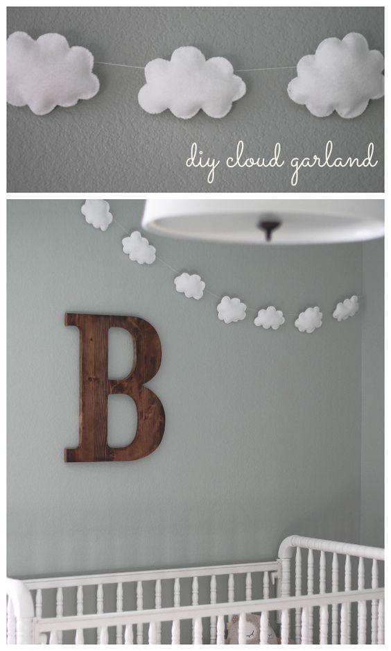 DIY Cloud Garland.