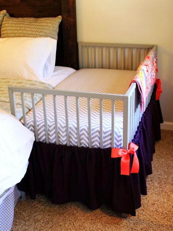 DIY Co-sleeper Made From IKEA Crib.