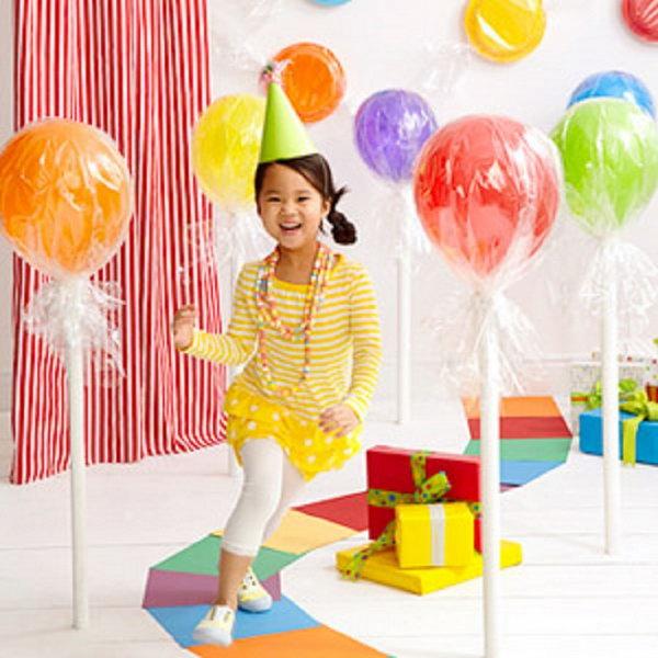 Balloon Lollipops.