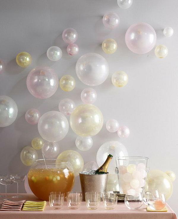 Balloon Wall.