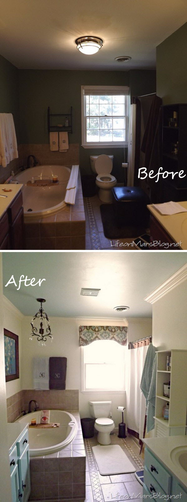 Master Bathroom Makeover.