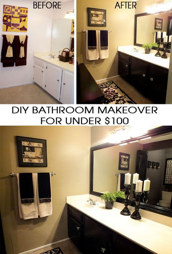 Amazing Transformation for Under $100.