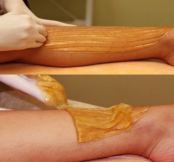 Natural Hair Removal- Never Shave Or Wax Again with Sugar Hair Depilation Sugar Paste.