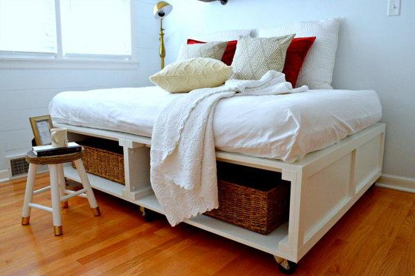 Wheelie Bed Frame. Get the tutorial