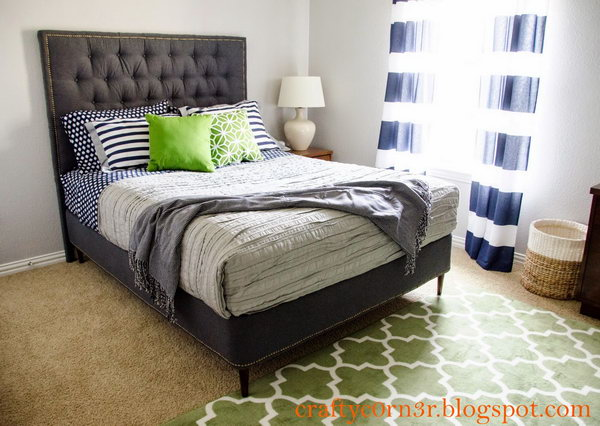 From Box Spring to Platform Bed Frame. Get the tutorial