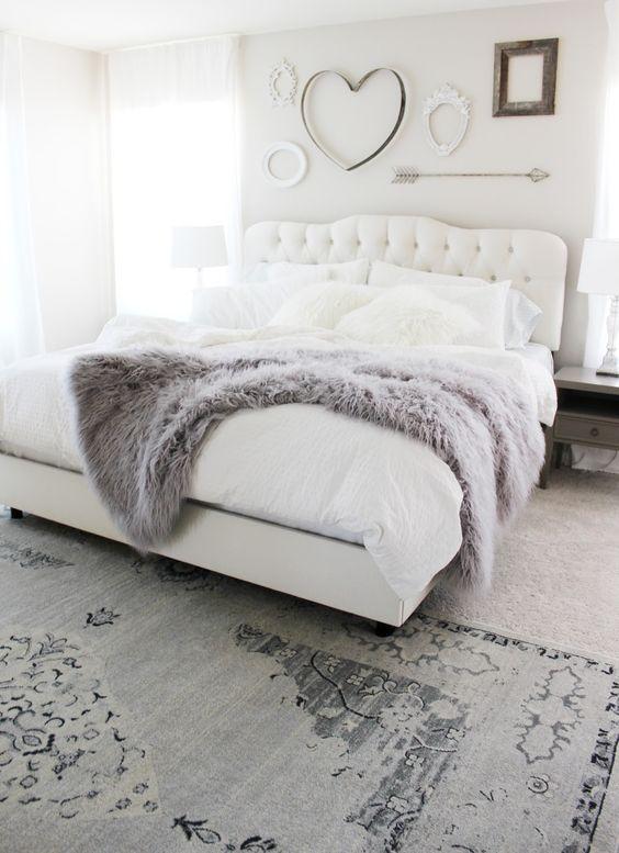 Gorgeous White Bedroom.