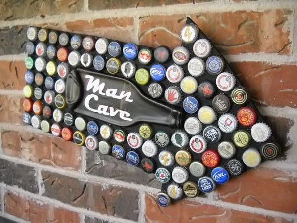 Reciclar tapas de botellas
