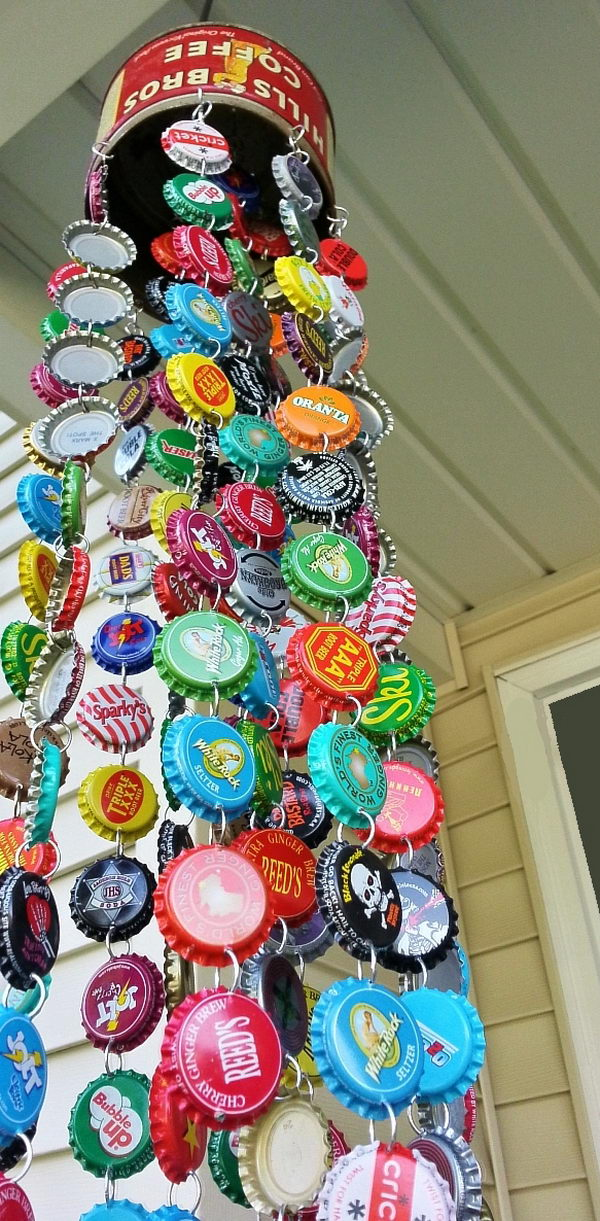 40 Awesome Ideas Tutorials To Craft With Bottle Caps 40 Mesmerizing How To Decorate Bottle Caps