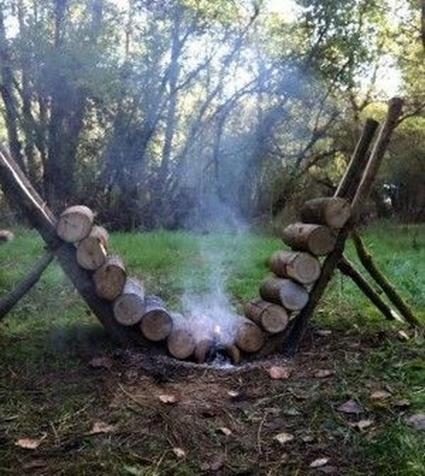 Make a Self Feeding Fire That Lasts for over 14 Hours. See the tutorial