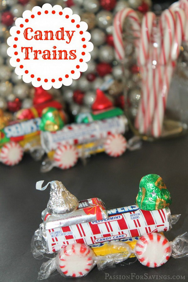 Lifesaver Candy Trains for Kids.