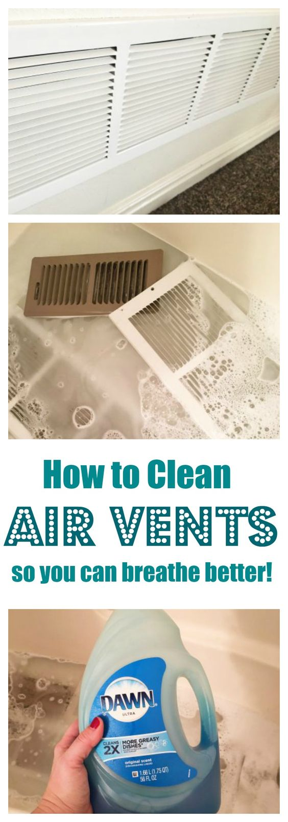 Clean Air Vents Easily.