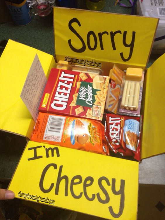 Sorry I'm Cheesy.