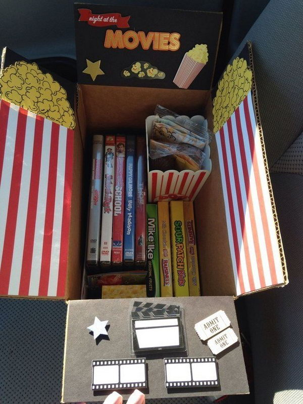 Movie Night College Care Package