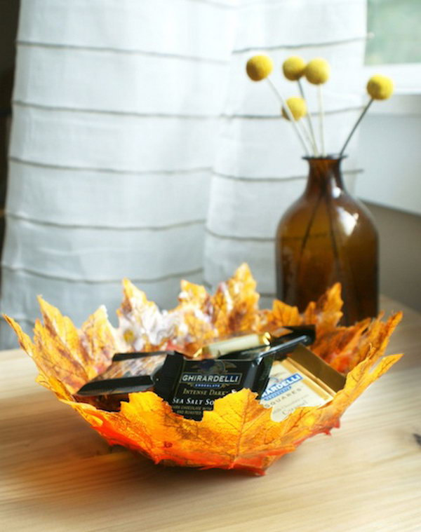 DIY Autumn Bowls.