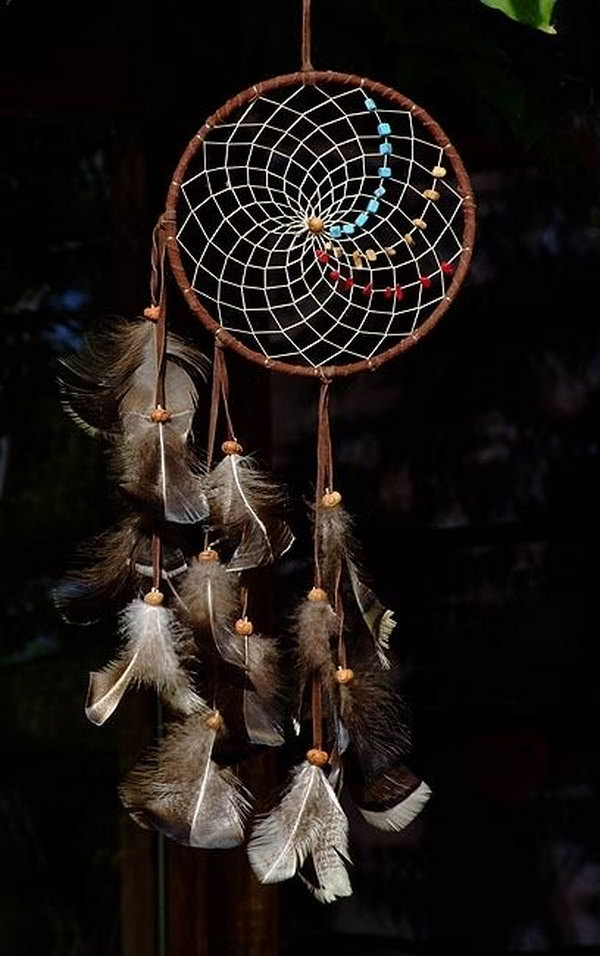 Dream Catchers Made By Native Americans 40 Beautiful Dream Catcher DIY Ideas and Tutorials 40 25