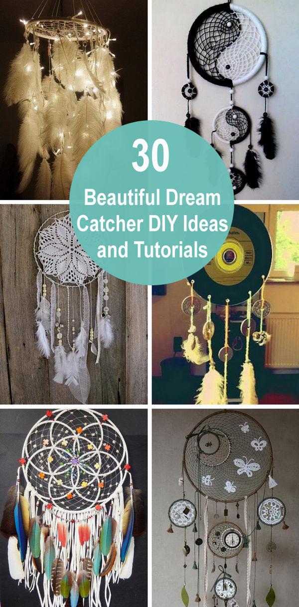 30 Beautiful Dream Catcher DIY Ideas and Tutorials.
