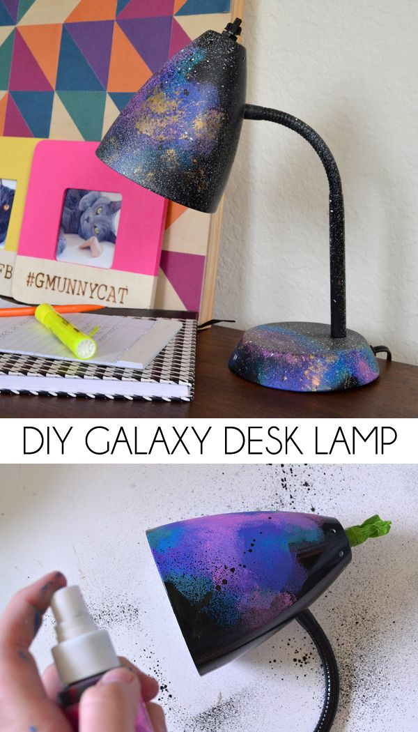 DIY Galaxy Desk Lamp. See more about this fun project