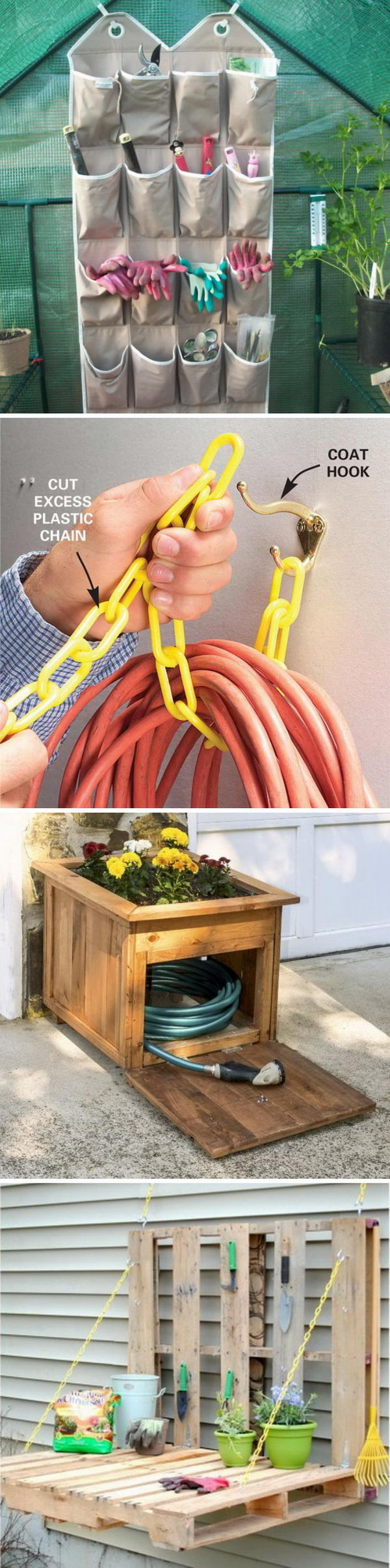 Awesome DIY Storage Ideas for Your Garden.