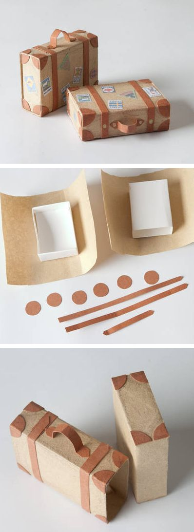 Easy Suitcaseb Gift Wrapping.