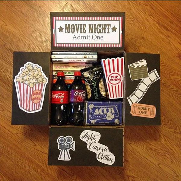 Movie Night Care Package.