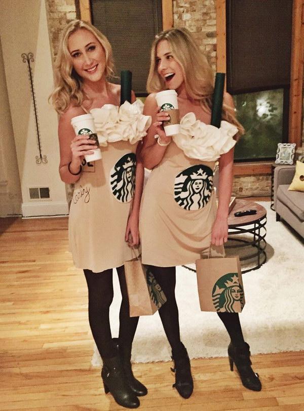 40 girlfriend group halloween costume ideas 2017 diy starbucks halloween costume solutioingenieria Image collections