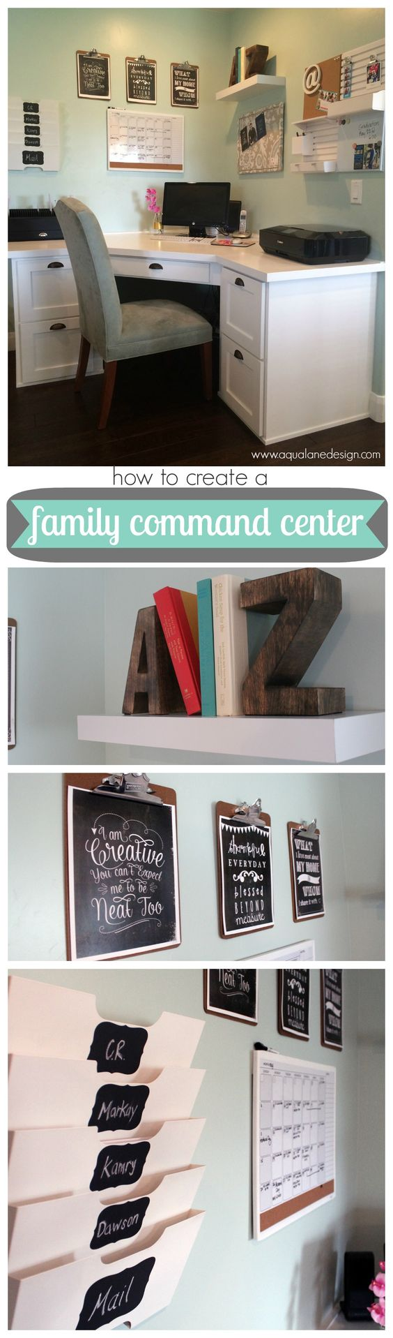 Keep Your Home Office Organized In a Corner Area.