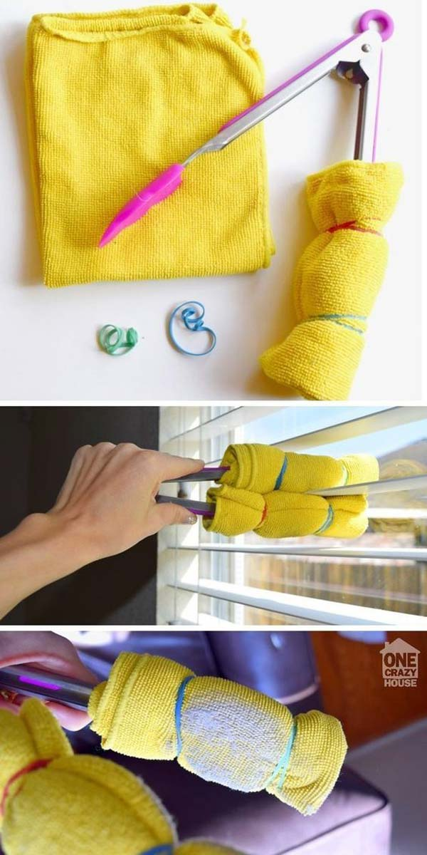 The Most Efficient and Easy Way To Clean Window Blinds.