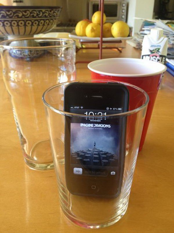 Makes your iPhone speaker louder in a simple way.