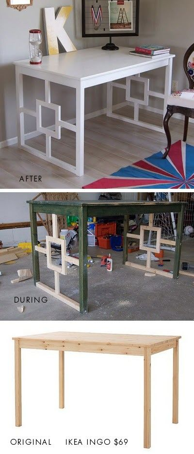 This IKEA Table Becomes an Awesome Desk.