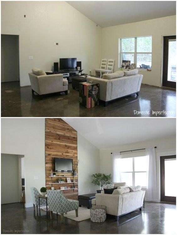 Budget Living Room Makeover.