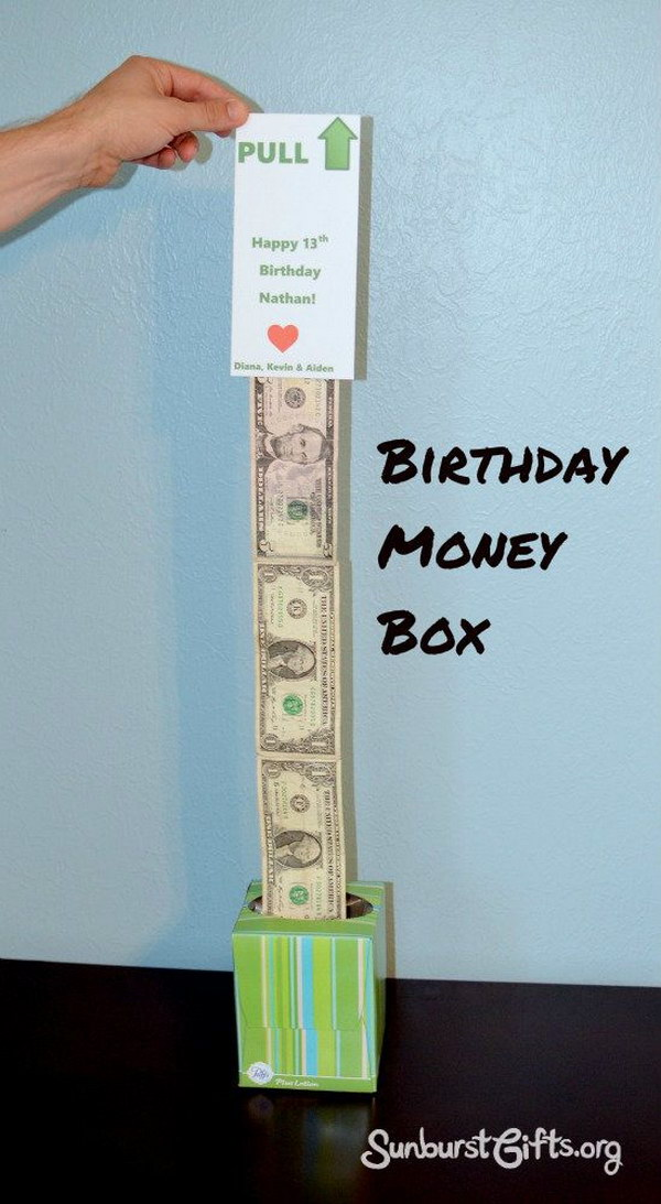 easy peasy money box gift
