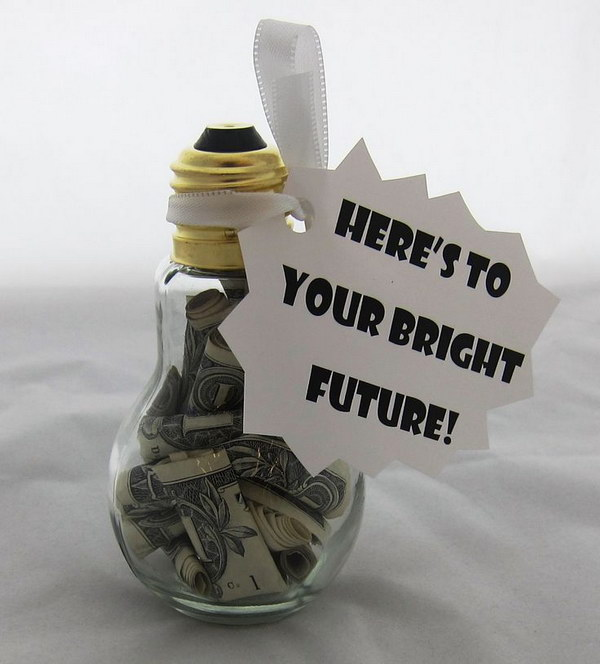 Light Up the Future with Money in a Light bulb.